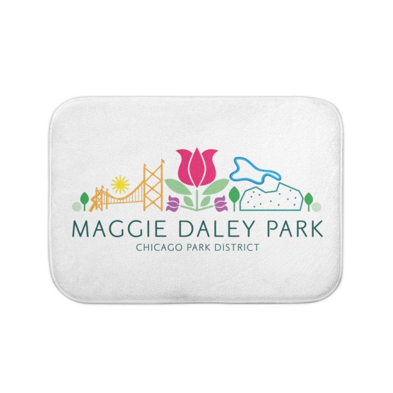 Maggie Daley Park Home Bath Mat by chicago park district's Artist Shop