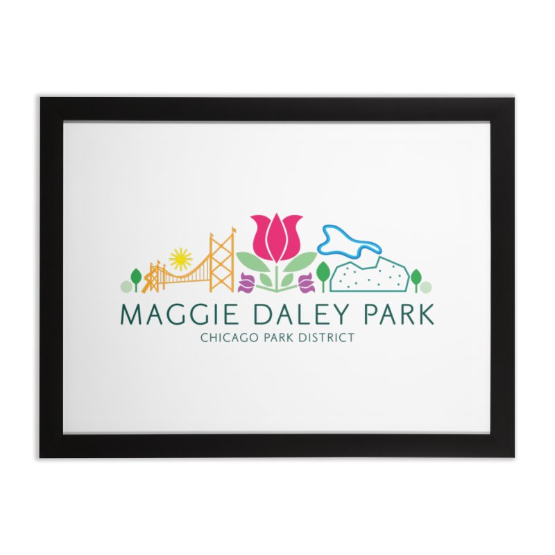 Maggie Daley Park Home Framed Fine Art Print by chicago park district's Artist Shop