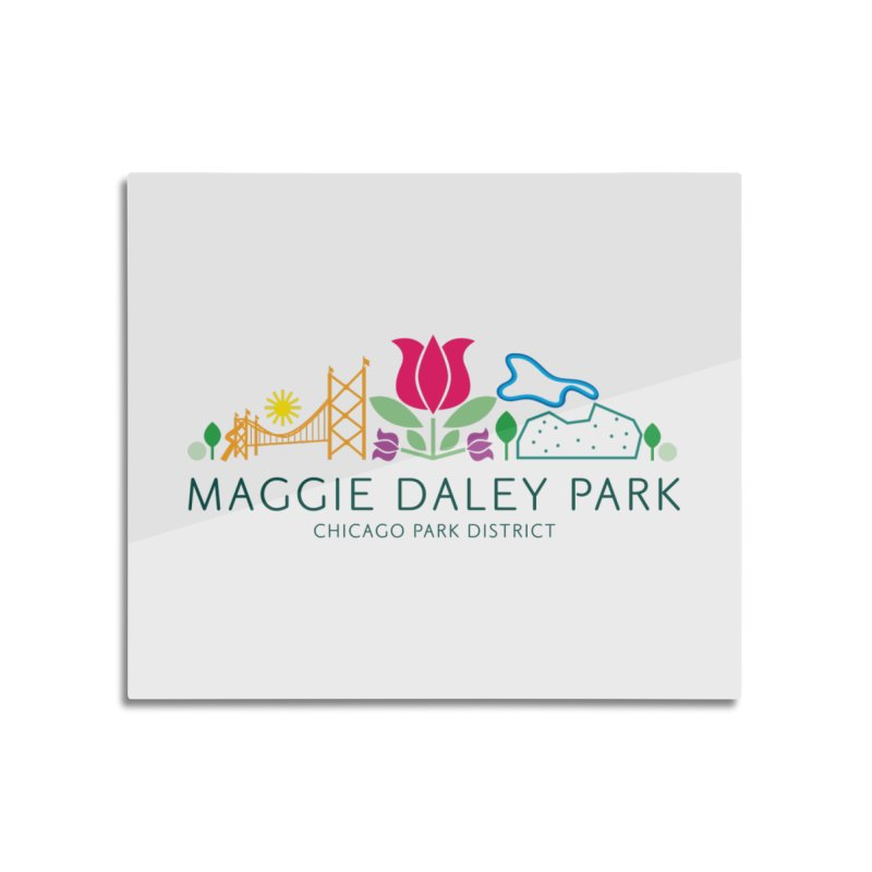 Maggie Daley Park Home Mounted Aluminum Print by chicago park district's Artist Shop