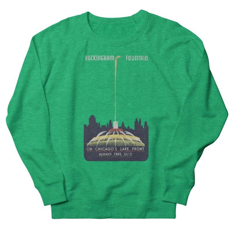 Buckingham Fountain Women's Sweatshirt by chicago park district's Artist Shop