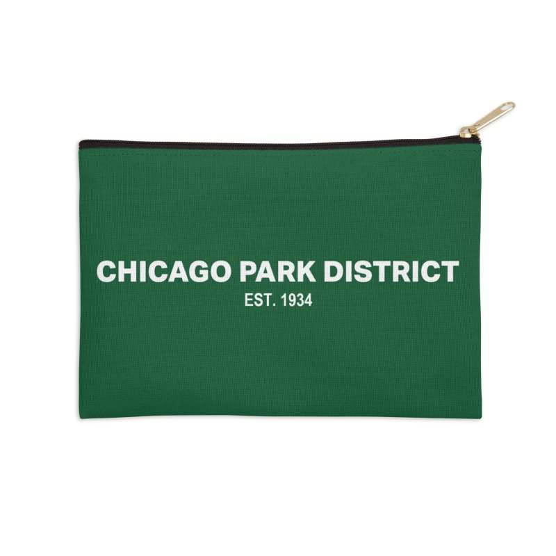 Chicago Park District Established Accessories Zip Pouch by chicago park district's Artist Shop
