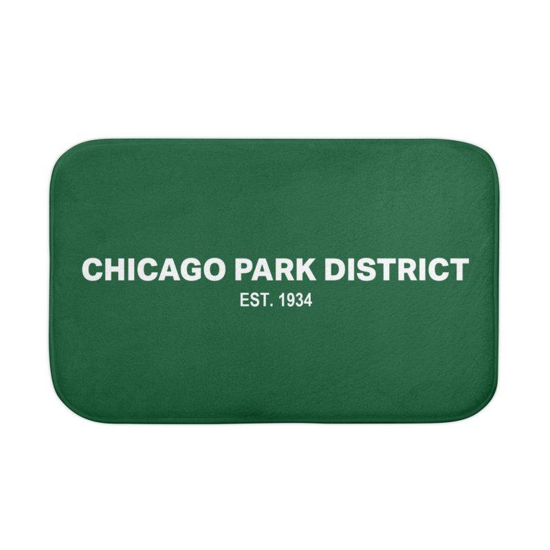 Chicago Park District Established Home Bath Mat by chicago park district's Artist Shop