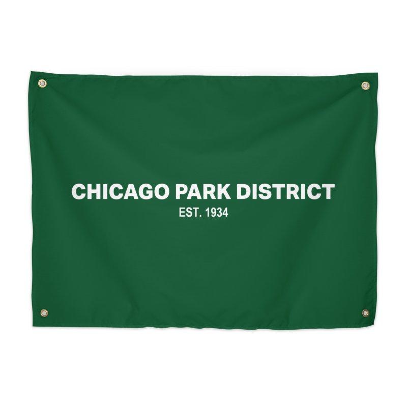 Chicago Park District Established Home Tapestry by chicago park district's Artist Shop