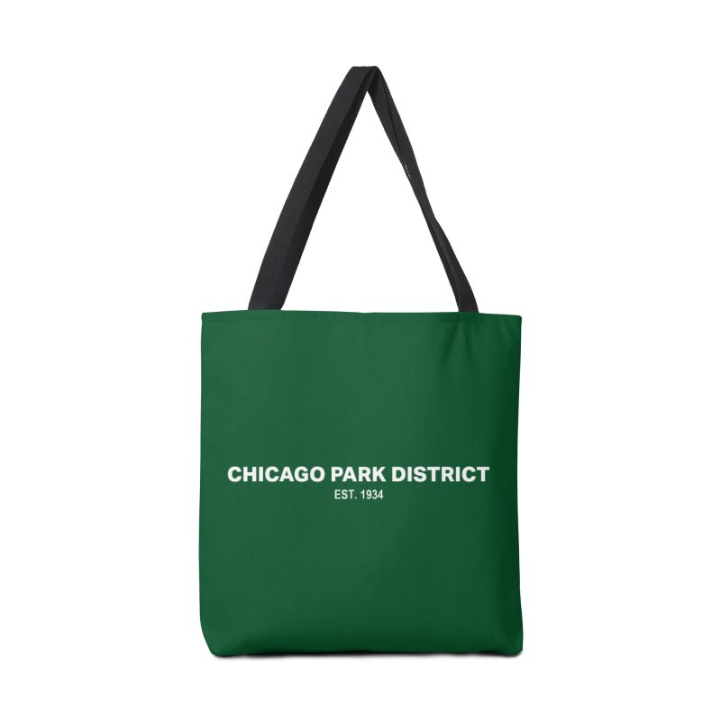 Chicago Park District Established Accessories Bag by chicago park district's Artist Shop