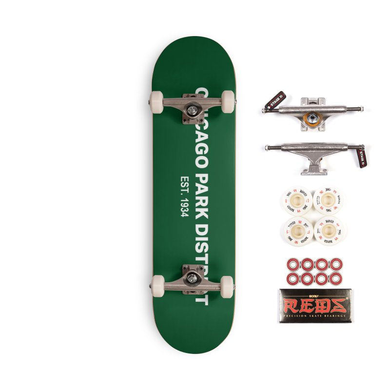 Chicago Park District Established Accessories Complete - Pro Skateboard by chicago park district's Artist Shop