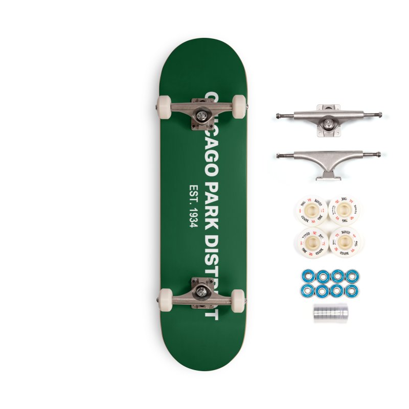 Chicago Park District Established Accessories Complete - Premium Skateboard by chicago park district's Artist Shop