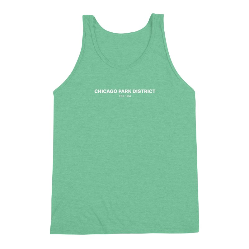 Chicago Park District Established Men's Triblend Tank by chicago park district's Artist Shop