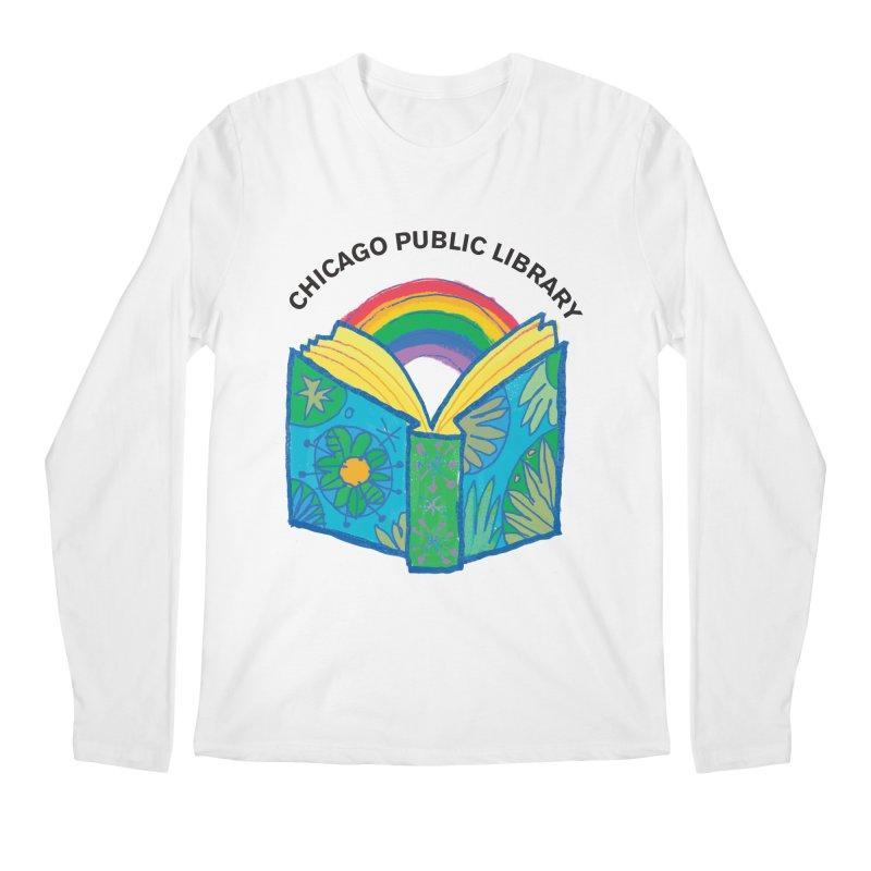 Summer 2019 Book Men's Regular Longsleeve T-Shirt by Chicago Public Library Artist Shop