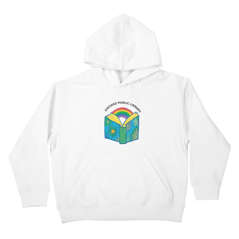 Summer 2019 Book Kids Pullover Hoody by Chicago Public Library Artist Shop