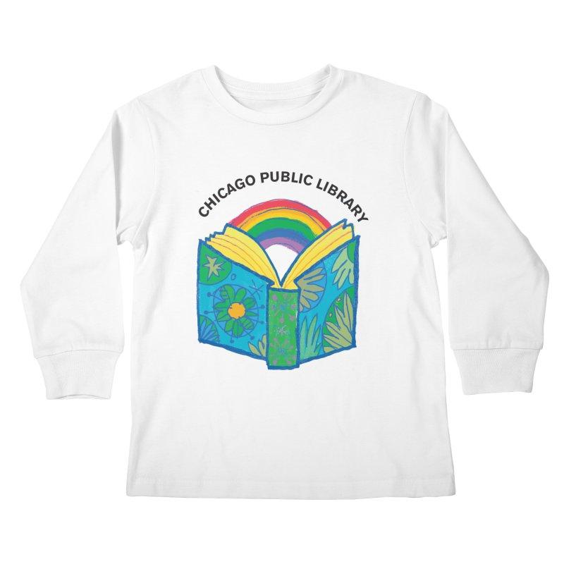 Summer 2019 Book Kids Longsleeve T-Shirt by Chicago Public Library Artist Shop