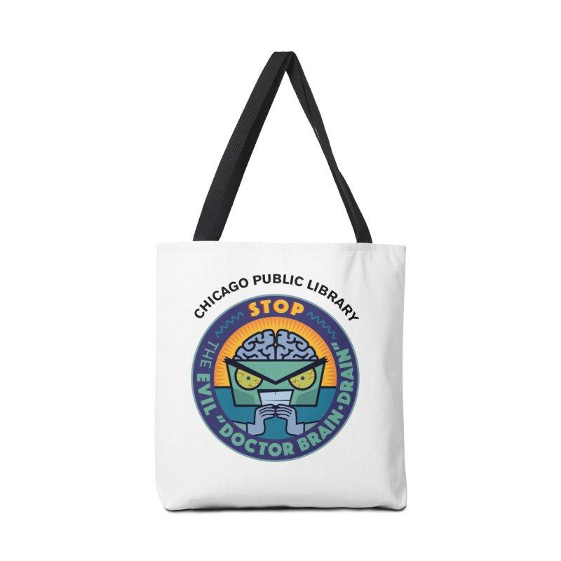 Summer 2019 Dr. Brain Drain Accessories Tote Bag Bag by Chicago Public Library Artist Shop