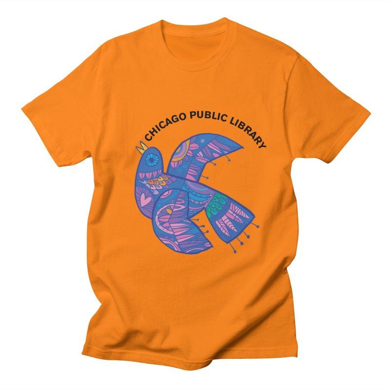 Summer 2019 Bird Men's T-Shirt by Chicago Public Library Artist Shop