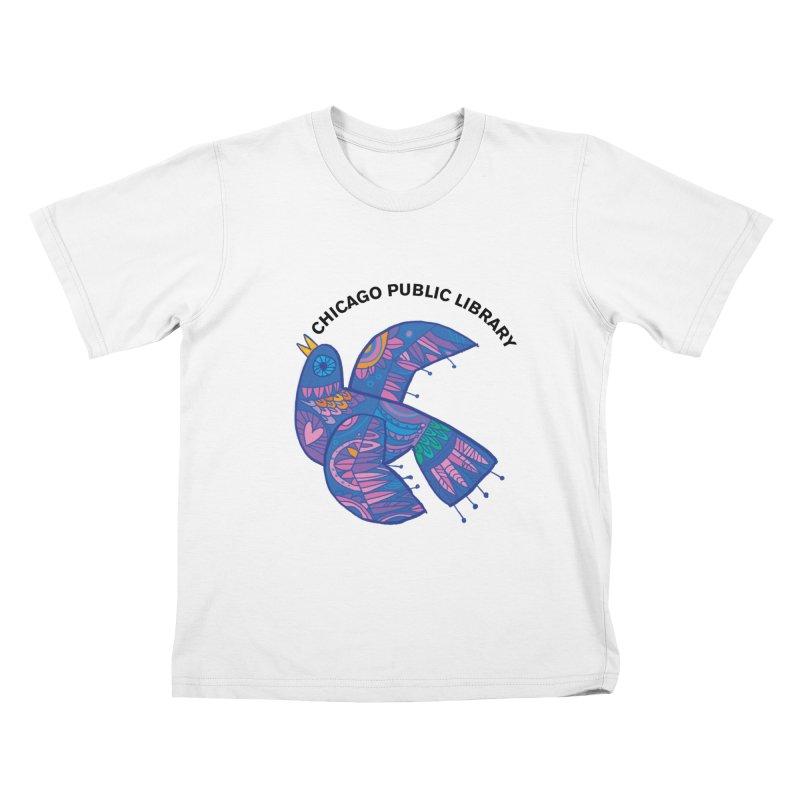 Summer 2019 Bird Kids T-Shirt by Chicago Public Library Artist Shop