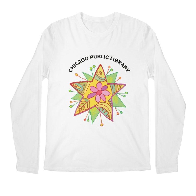 Summer 2019 Star Men's Regular Longsleeve T-Shirt by Chicago Public Library Artist Shop
