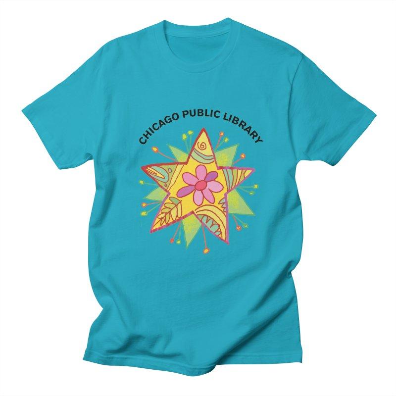 Summer 2019 Star Men's Regular T-Shirt by Chicago Public Library Artist Shop