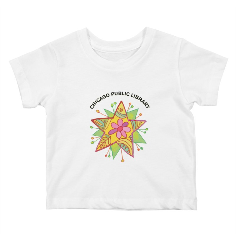 Summer 2019 Star Kids Baby T-Shirt by Chicago Public Library Artist Shop