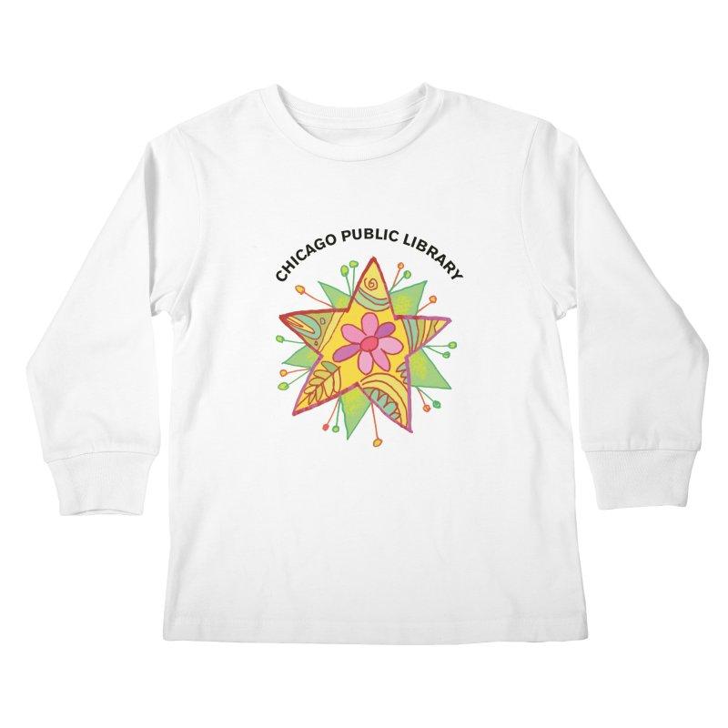 Summer 2019 Star Kids Longsleeve T-Shirt by Chicago Public Library Artist Shop