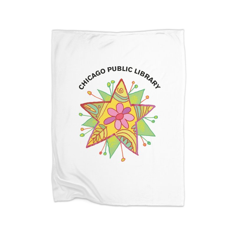 Summer 2019 Star Home Fleece Blanket Blanket by Chicago Public Library Artist Shop