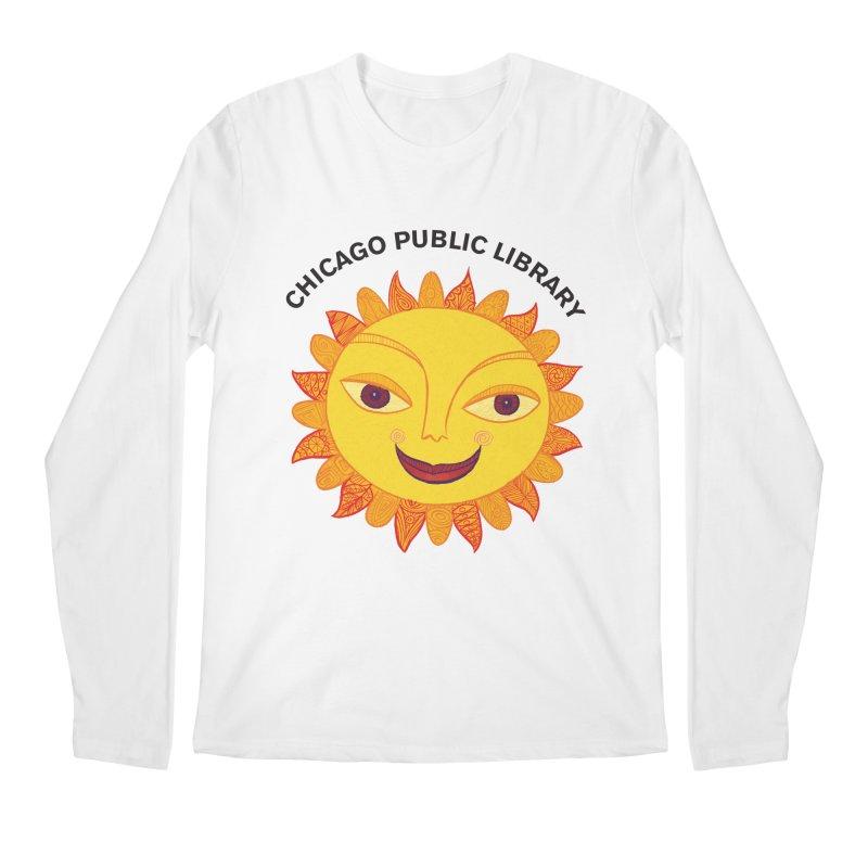 Summer 2019 Sun Men's Regular Longsleeve T-Shirt by Chicago Public Library Artist Shop