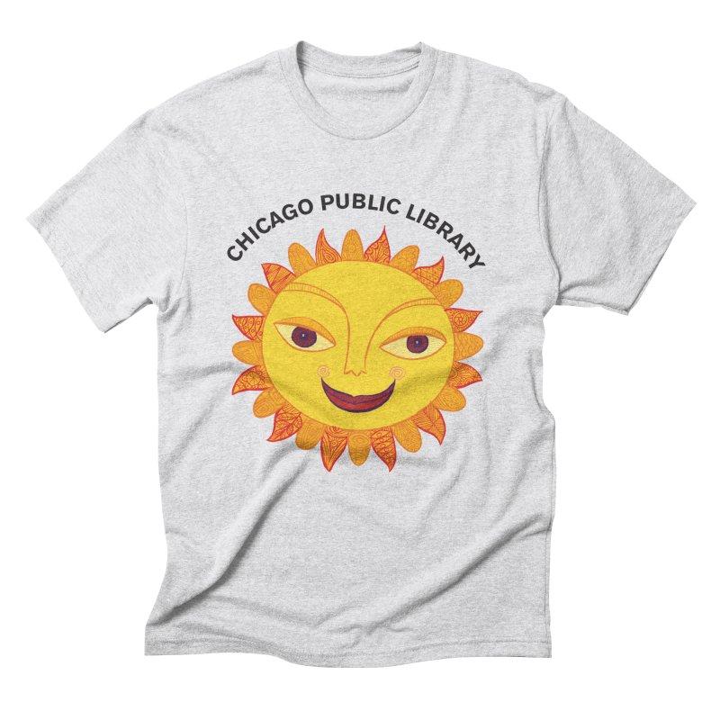 Summer 2019 Sun Men's Triblend T-Shirt by Chicago Public Library Artist Shop