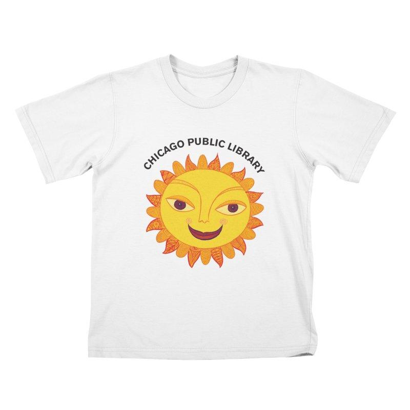 Summer 2019 Sun Kids T-Shirt by Chicago Public Library Artist Shop