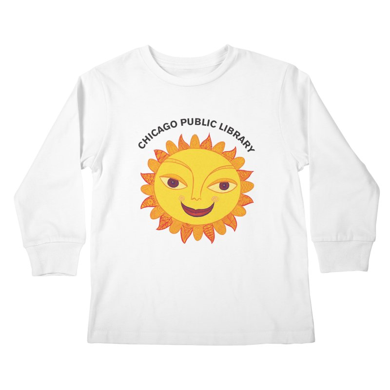 Summer 2019 Sun Kids Longsleeve T-Shirt by Chicago Public Library Artist Shop