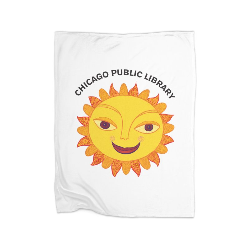 Summer 2019 Sun Home Fleece Blanket Blanket by Chicago Public Library Artist Shop