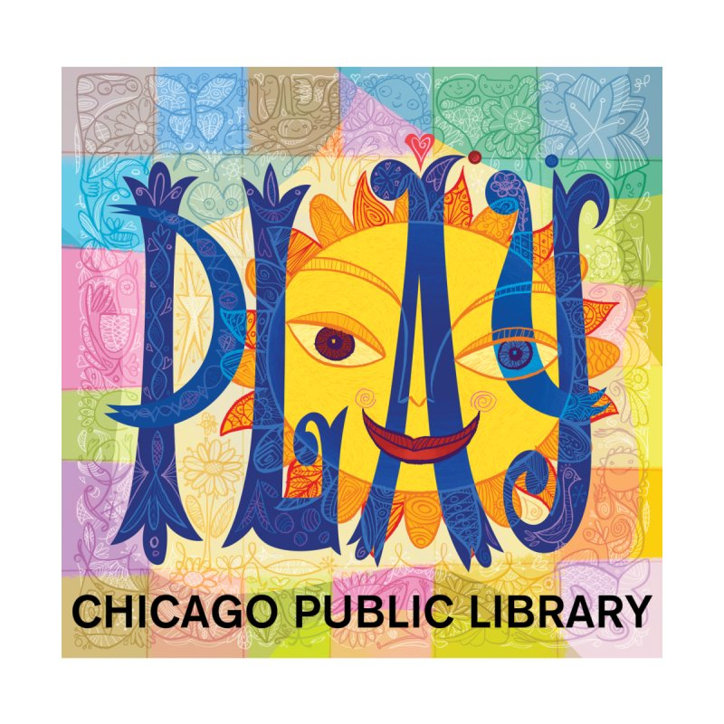 Summer 2019 Play Accessories Mug by Chicago Public Library Artist Shop