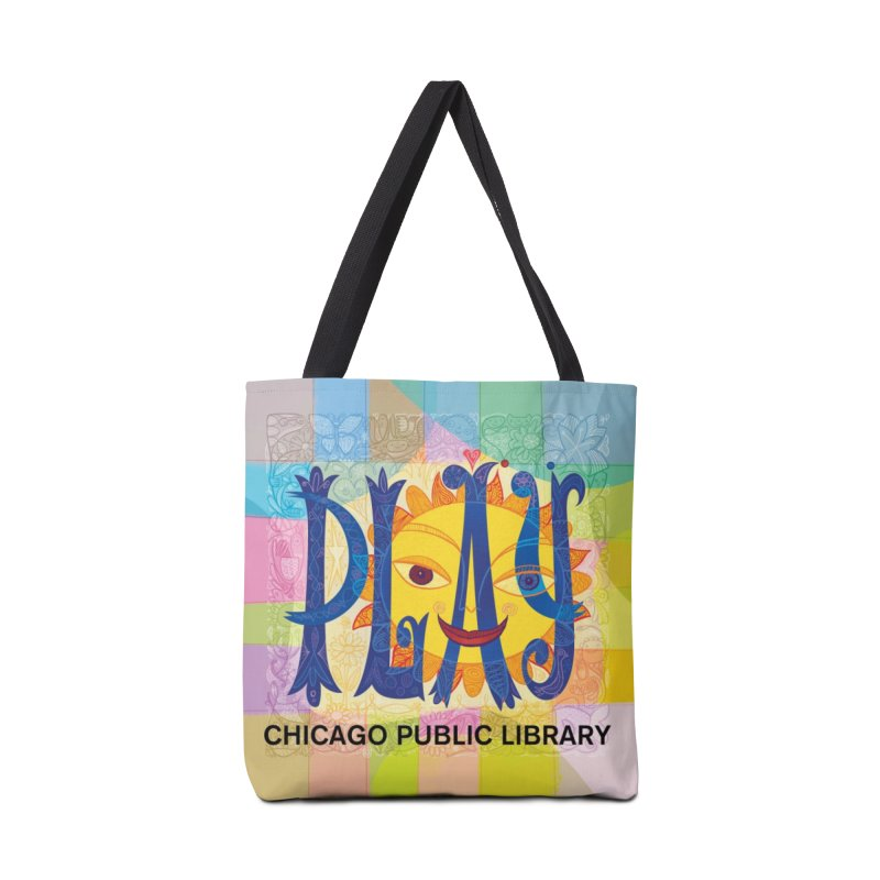 Summer 2019 Play Accessories Tote Bag Bag by Chicago Public Library Artist Shop