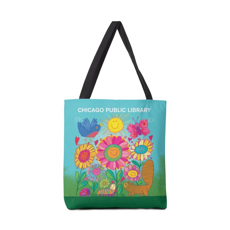 Summer 2019 Flowers Accessories Tote Bag Bag by Chicago Public Library Artist Shop