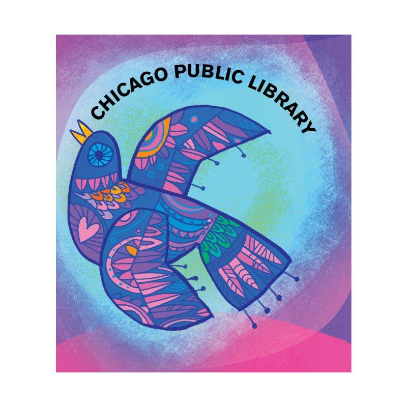 Summer 2019 Bird Background by Chicago Public Library Artist Shop