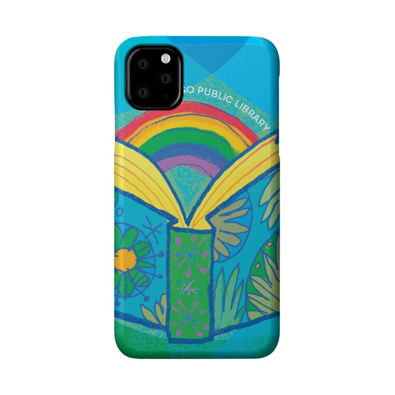 Summer 2019 Book Background Accessories Phone Case by Chicago Public Library Artist Shop