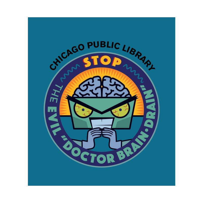 Summer 2019 Dr. Brain Drain Background by Chicago Public Library Artist Shop