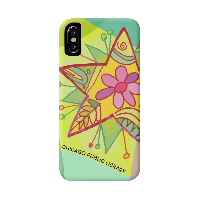 Summer 2019 Star Background Accessories Phone Case by Chicago Public Library Artist Shop