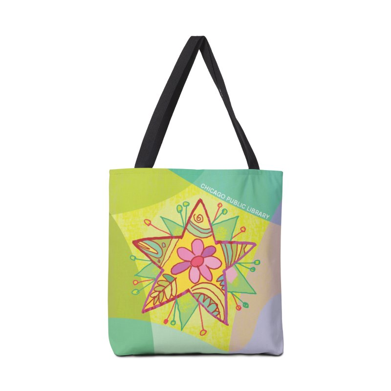 Summer 2019 Star Background Accessories Tote Bag Bag by Chicago Public Library Artist Shop