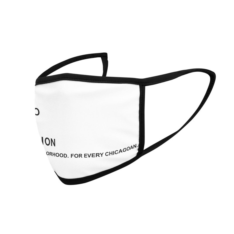Library Foundation Logo Master Accessories Face Mask by Chicago Public Library Artist Shop