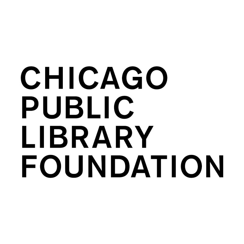 Library Foundation Logo Master Accessories Notebook by Chicago Public Library Artist Shop