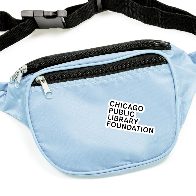 Library Foundation Logo Master Accessories Sticker by Chicago Public Library Artist Shop