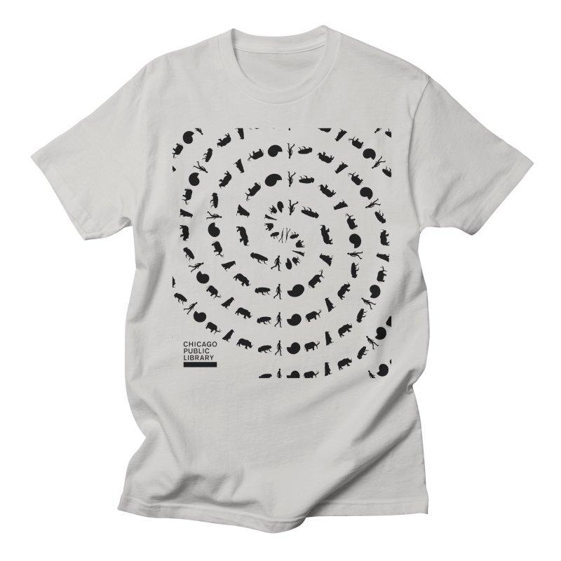One Book, One Chicago 2019 Vortex Black Women's Regular Unisex T-Shirt by Chicago Public Library Artist Shop
