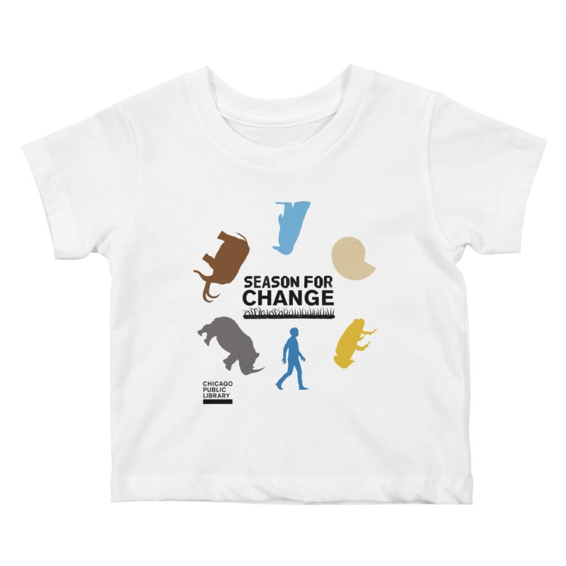 One Book, One Chicago 2019 Season of Change Roundabout Black Kids Baby T-Shirt by Chicago Public Library Artist Shop