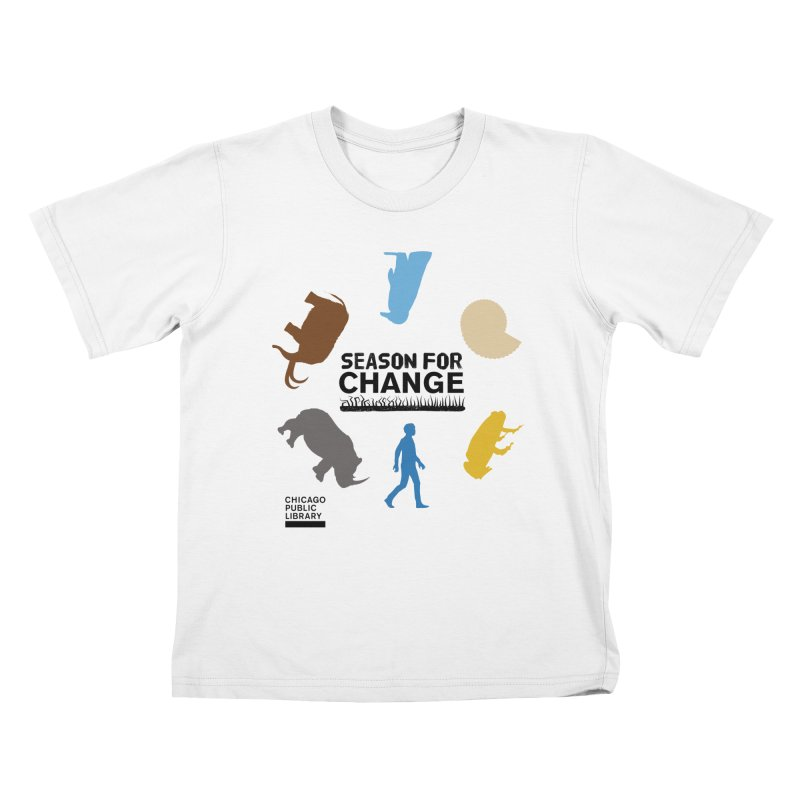 One Book, One Chicago 2019 Season of Change Roundabout Black Kids T-Shirt by Chicago Public Library Artist Shop