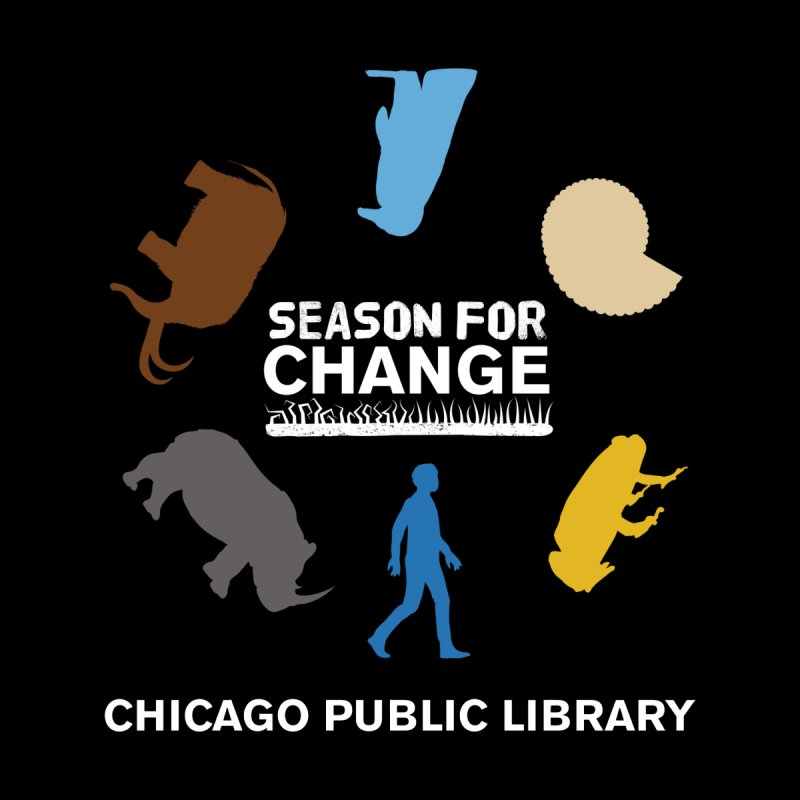 One Book, One Chicago 2019 Season of Change Roundabout White by Chicago Public Library Artist Shop