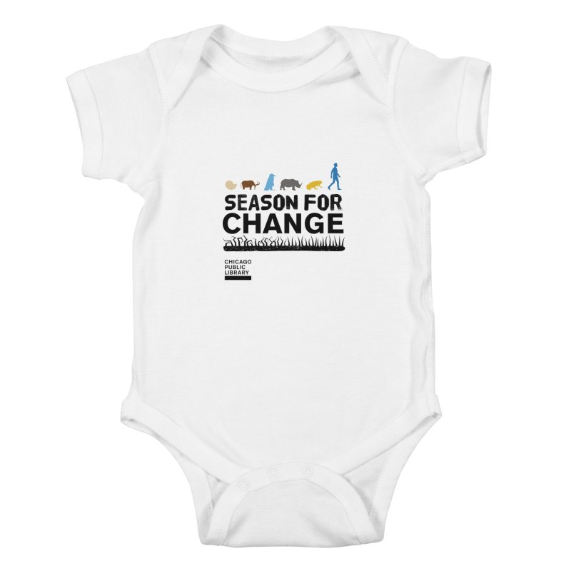One Book, One Chicago 2019 Season of Change Black Kids Baby Bodysuit by Chicago Public Library Artist Shop