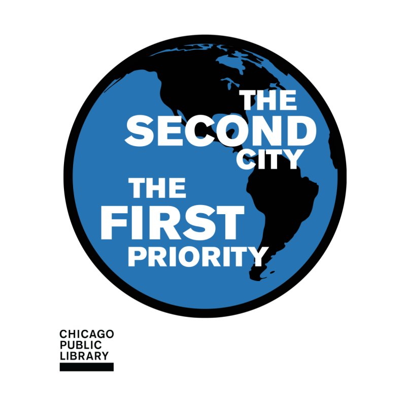One Book, One Chicago 2019 Second City Black by Chicago Public Library Artist Shop