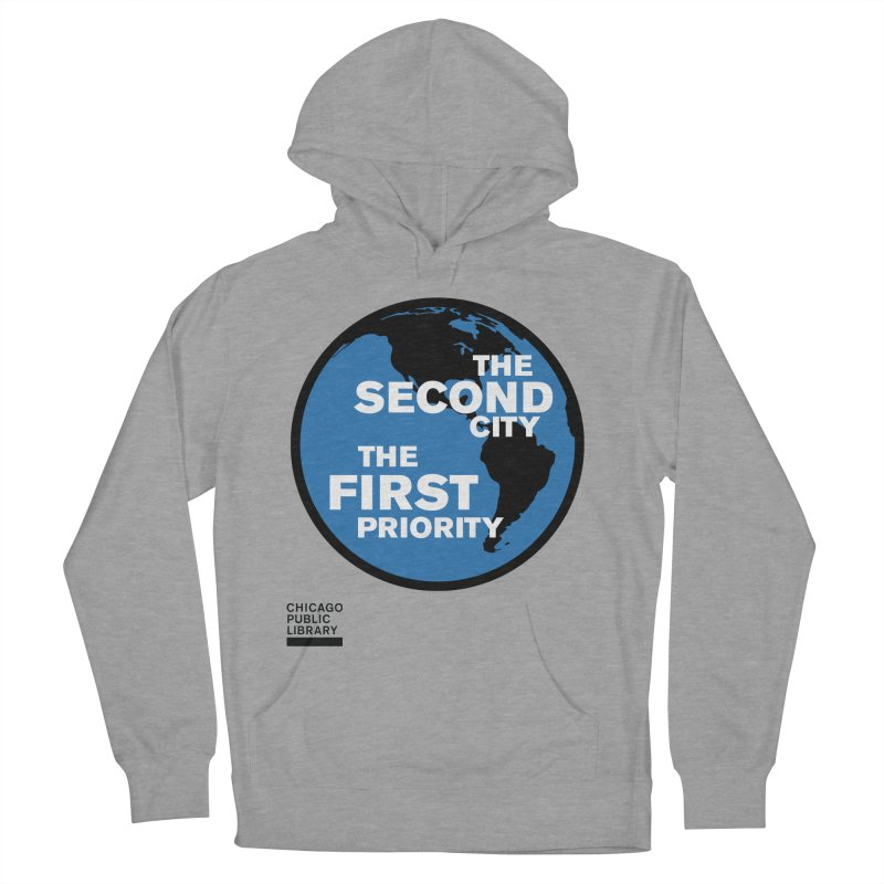 One Book, One Chicago 2019 Second City Black Women's French Terry Pullover Hoody by Chicago Public Library Artist Shop