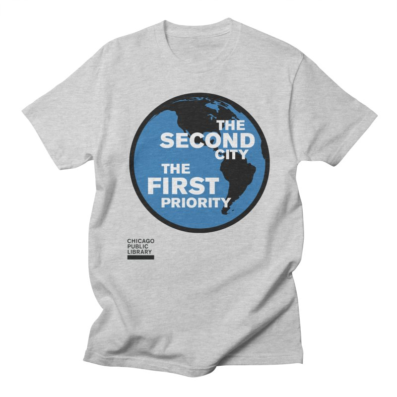 One Book, One Chicago 2019 Second City Black Men's Regular T-Shirt by Chicago Public Library Artist Shop