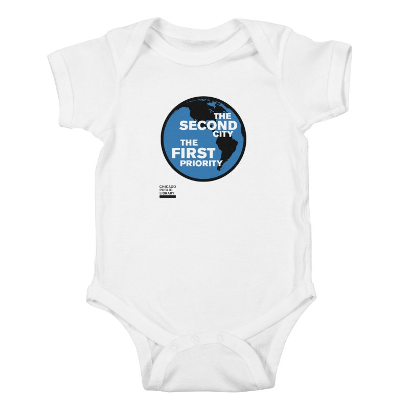 One Book, One Chicago 2019 Second City Black Kids Baby Bodysuit by Chicago Public Library Artist Shop