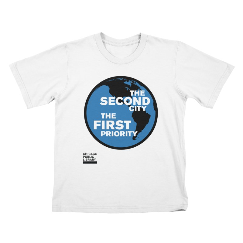 One Book, One Chicago 2019 Second City Black Kids T-Shirt by Chicago Public Library Artist Shop
