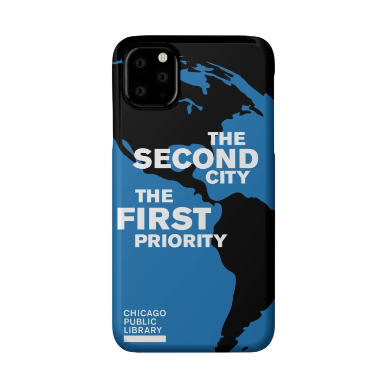 One Book, One Chicago 2019 Second City White Accessories Phone Case by Chicago Public Library Artist Shop