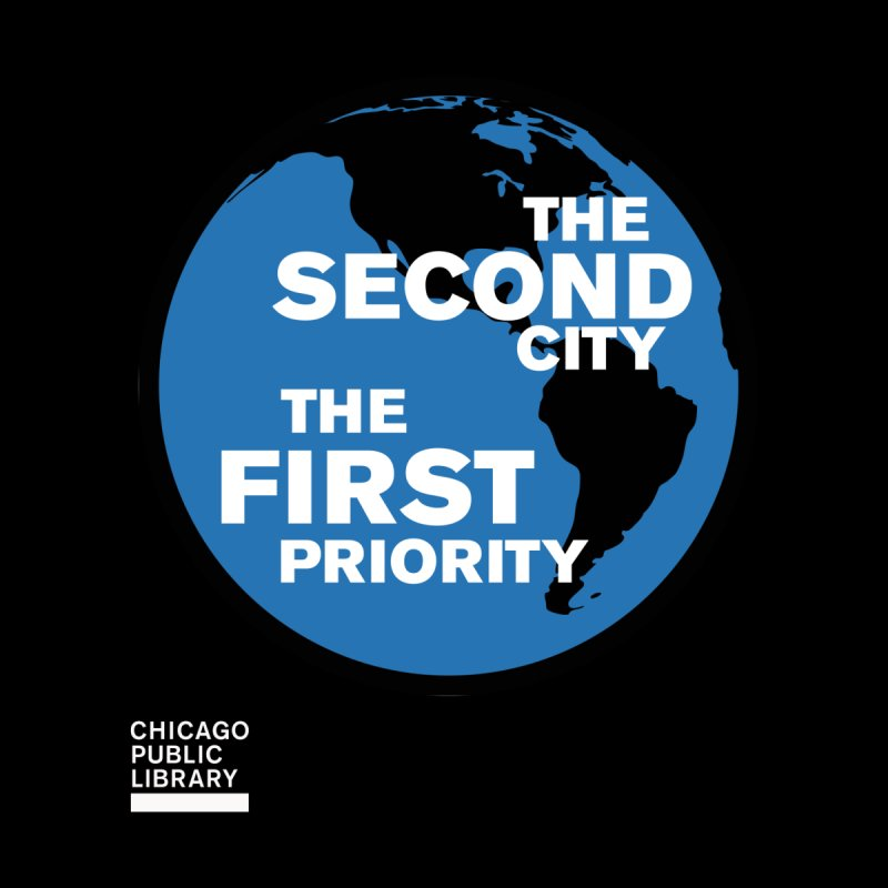 One Book, One Chicago 2019 Second City White by Chicago Public Library Artist Shop